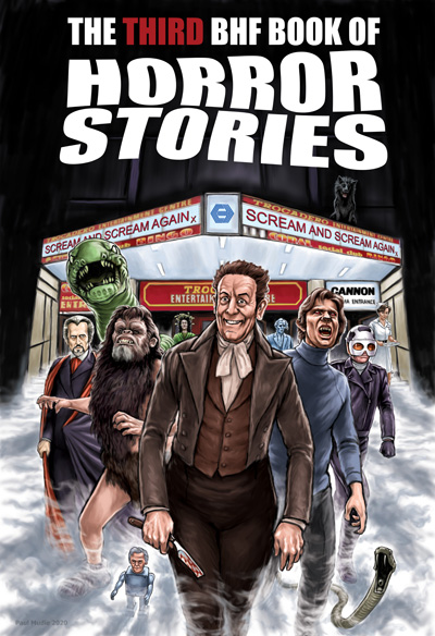 Third BHF Book of Horror Stories cover © Paul Mudie