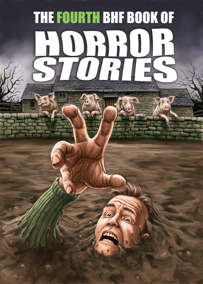 Fourth BHF Book of Horror Stories cover © Paul Mudie