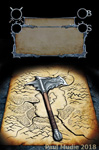 Dead Throne card - Axe of Ethelder