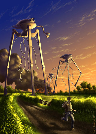 War of the Worlds - © Paul Mudie